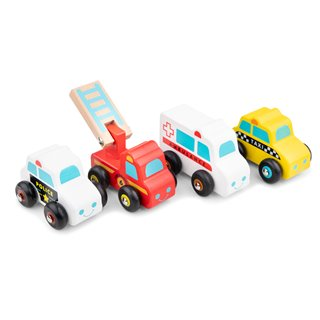 New Classic Toys - Vehicles Set - 4 vehicles