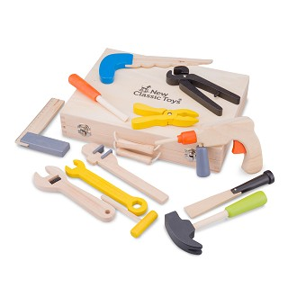 New Classic Toys - Tool Box - 12 pieces