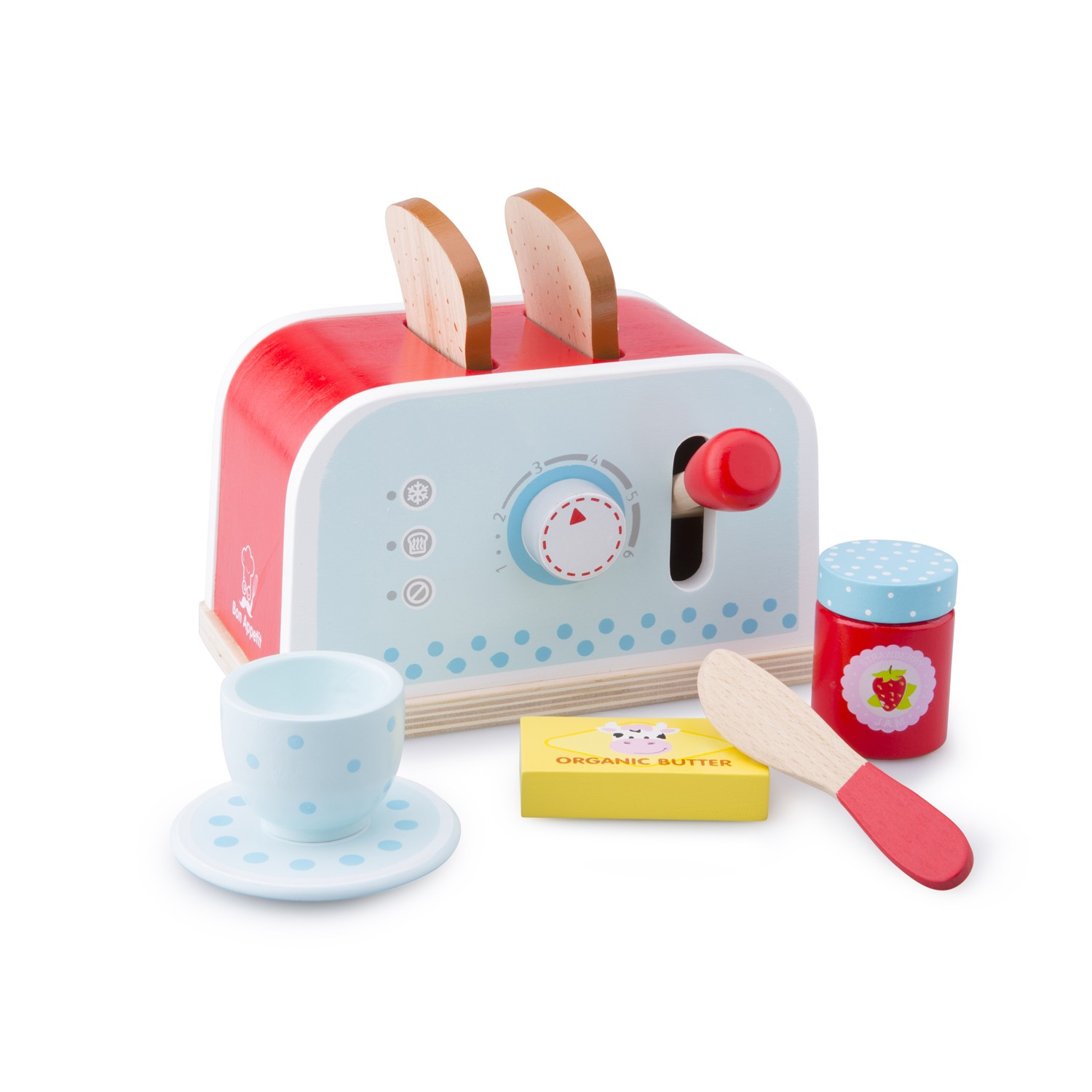 New Classic Toys Toaster Set New Classic Toys