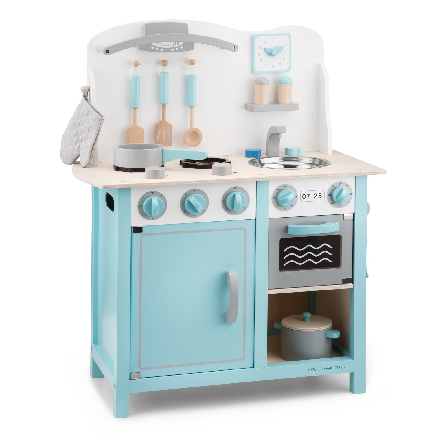 New Classic Toys Kitchenette Bon Appetit Deluxe Blue New