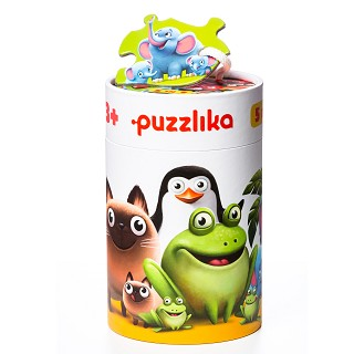 "Puzzlika - Puzzles 5 in 1 ""Together with a Child"""