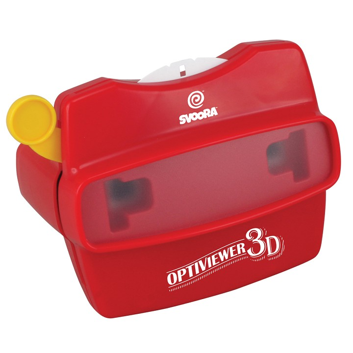 Svoora - 3D Optiviewer (2 reels included)