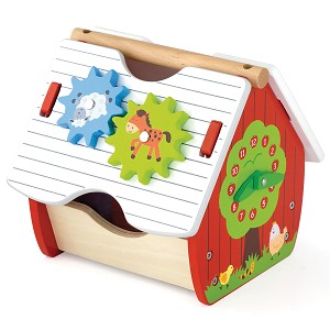 Viga Toys - Shape Sorter House - Activity Farm
