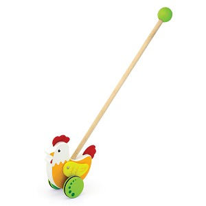 Viga Toys - Push toy - rooster