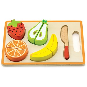 Viga Toys - Shape puzzle - cutting fruit