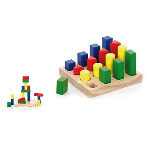 Viga Toys - Shape sequence blocks