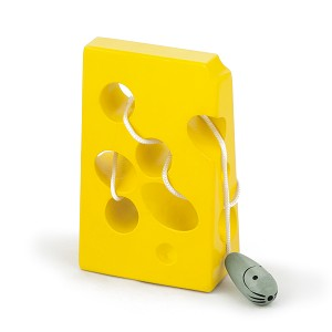 Viga Toys - Threading cheese & mouse