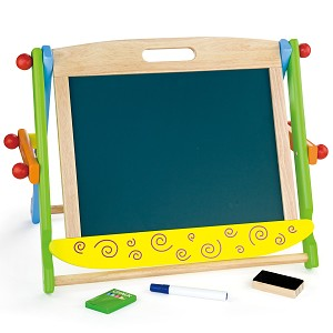 Viga Toys - Magnetic table top - two sided easel