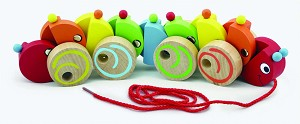 Viga Toys - Pull-along - caterpillar