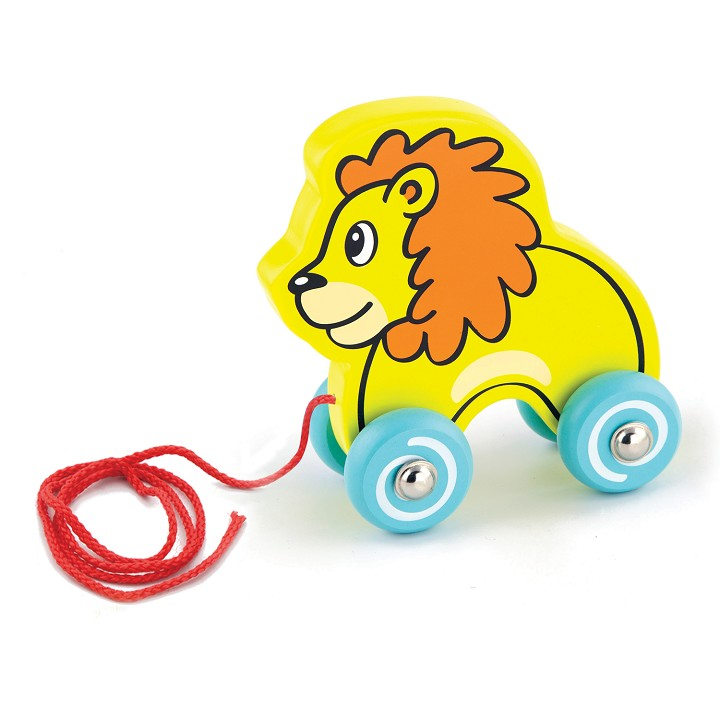 Viga Toys - Pull Along - Lion