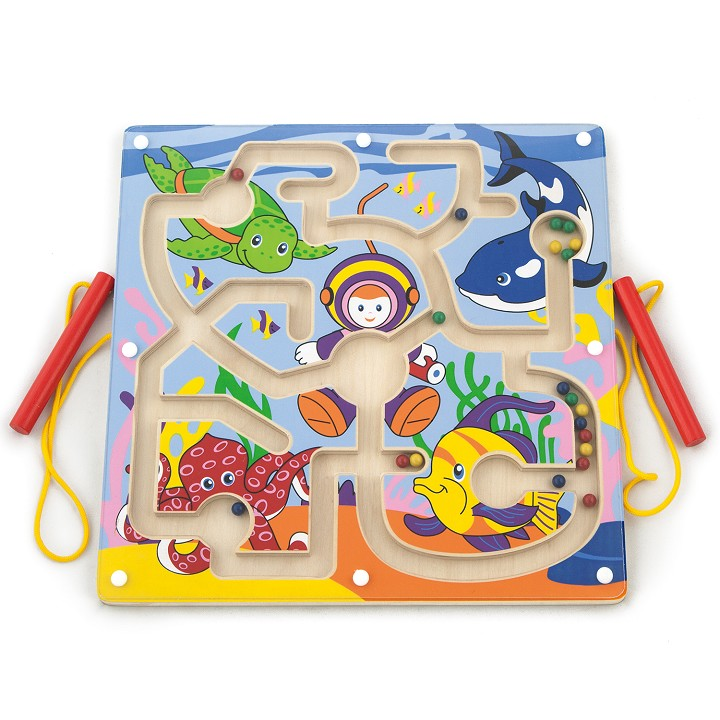 Viga Toys - Magnetic Bead Trace - Under The Sea
