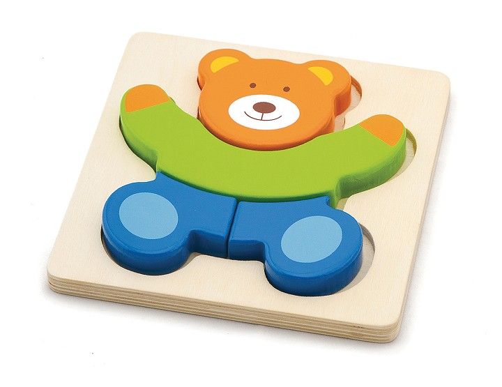 Viga Toys - Mini Puzzle Bear