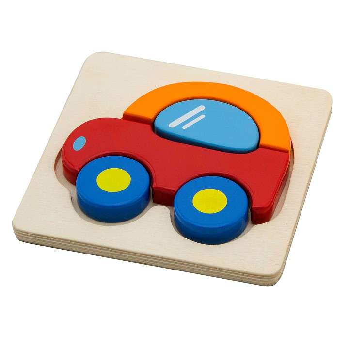 Viga Toys - Mini Puzzle Car