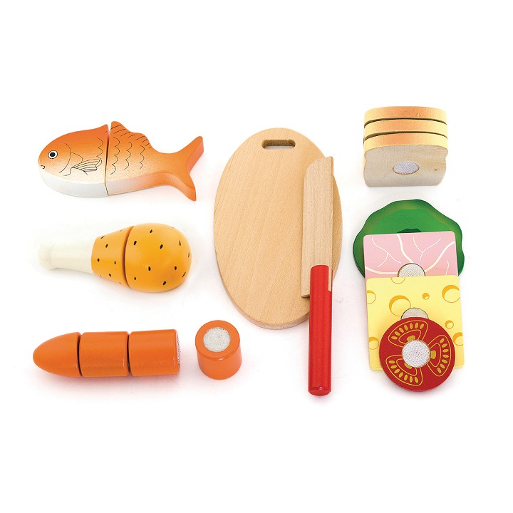 Viga Toys - Cutting Meal - Lunch Box