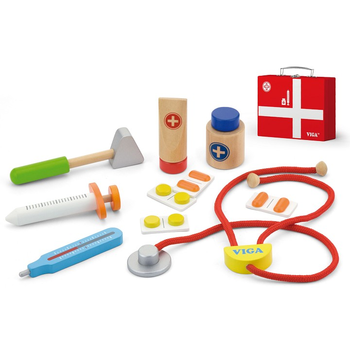 Viga Toys - Medical Kit - 11 pieces