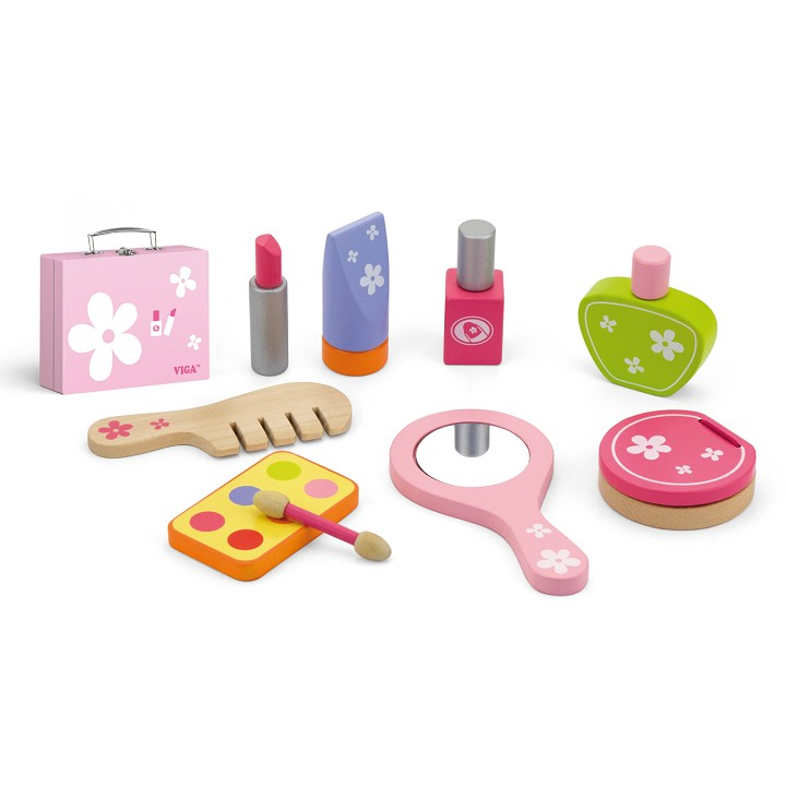 Viga Toys - Beauty Case - 10 pieces