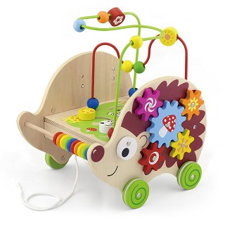 Viga Toys - Pull-along Activity Hedgehog