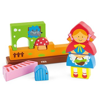 Viga Toys - Magnetic 3D Puzzle - Red Riding Hood