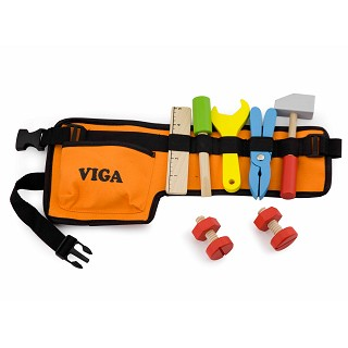 Viga Toys - Tool Belt - 10 pieces