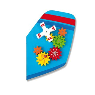 Viga Toys - Wall Game - Airplane
