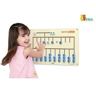 Viga Toys - Wall Game - Learning Maths