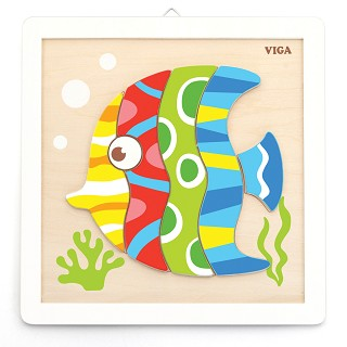 Viga Toys - Painting Set - Fish