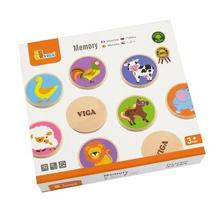 Viga Toys - Memory - Animals