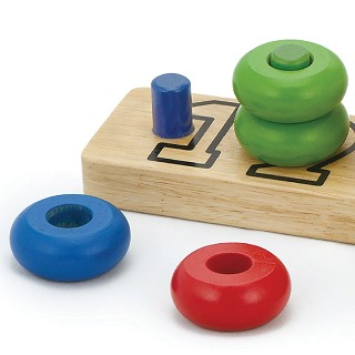 Viga Toys - Number Stacking Rings