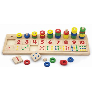 Viga Toys - Count and Match Numbers