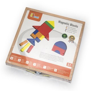 Viga Toys - Magnetic Shapes & Box