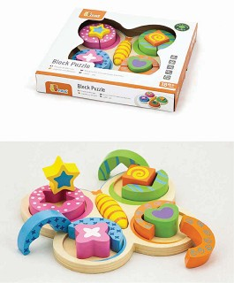 Viga Toys - Shape Sorting Puzzle - Butterfly
