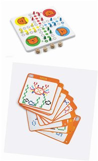 Viga Toys - Create Pattern with Beads & Ludo