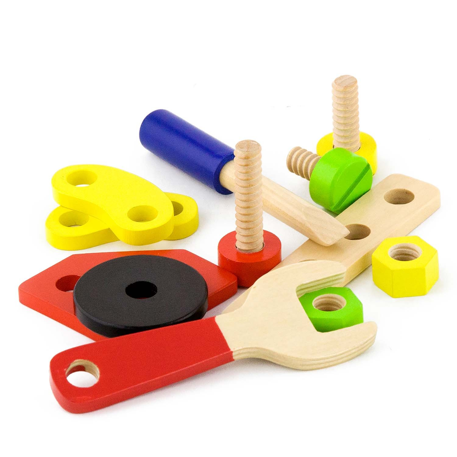Toys That Are 48 20 : Viga toys construction block set pieces new