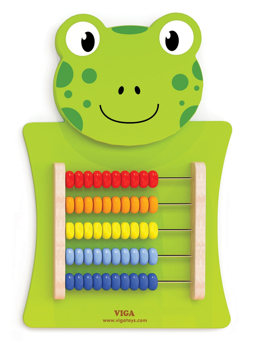 Viga Toys Wall Game Abacus Frog New Classic Toys