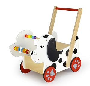 Viga Toys - Walker - Doll's Buggy - Happy Dog