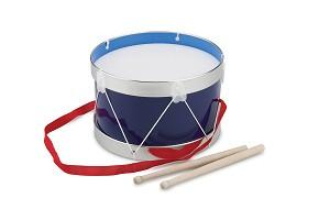 New Classic Toys - Drum - Blue - Ø 22 cm