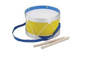 New Classic Toys - Drum - Yellow - Ø 22 cm