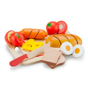 New Classic Toys - Cutting Meal - Breakfast - 10 pcs.
