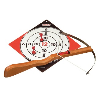 Gapola - Large Crossbow with Target and 3 Darts